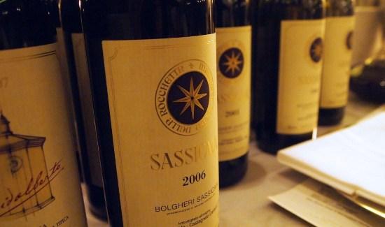 1 down, 5 to go – en aften med ægte playboy-vin i form af Sassicaia