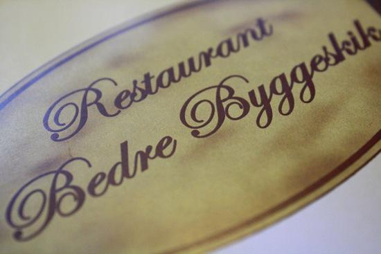 Restaurant Bedre Byggeskik