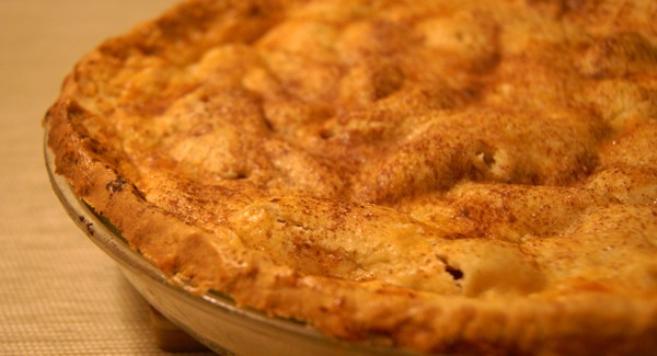 The ultimate pie – Double crust apple pie