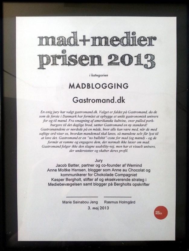 Mad+Medier-prisen - Madblogging