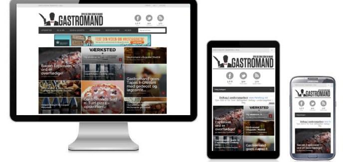 Gastromand 2.0 – nu brugbar på mobil og tablet