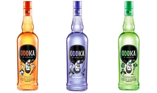 De tre vanvittige vodka versioner: Apple Pie, Electricity og Fresh Cut Grass