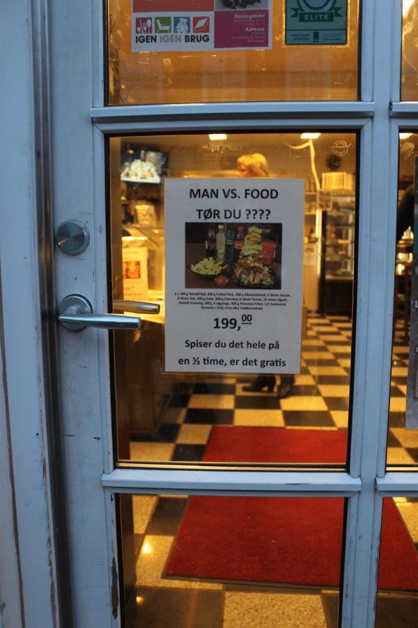 Man vs. Food?