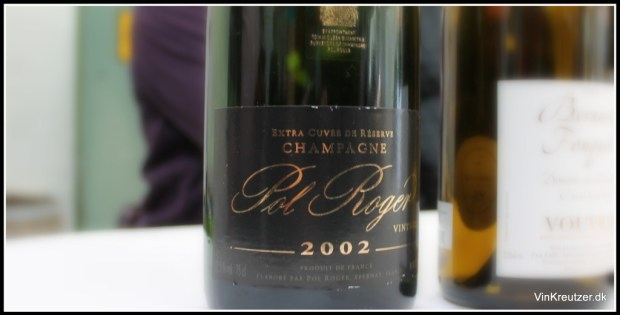 2002 Pol RogerChampagne