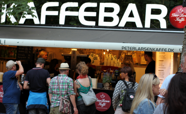 Peter Larsen er forsat i top med deres kaffe...