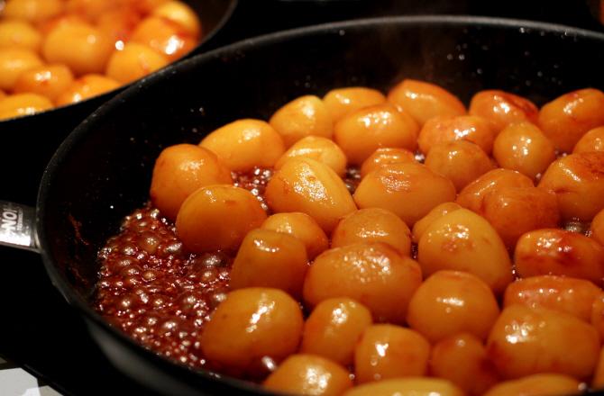 brune kartofler kogetid