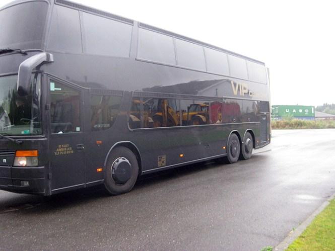 Partybussen.