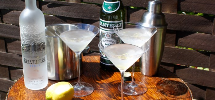 International Martini-dag: Belvedere 007 Martini
