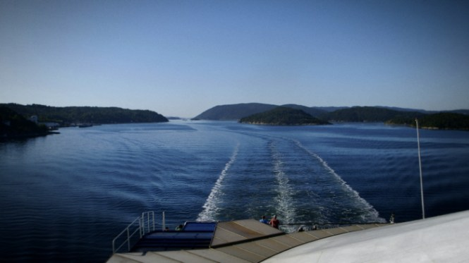 Den smukke Oslo-fjord   Foto: Rasmus Dinesen