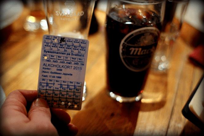 Nå ja, der er alkohol-kvote hos dig unge heroppe! Det skyldes det er svært at importere og dyrt!