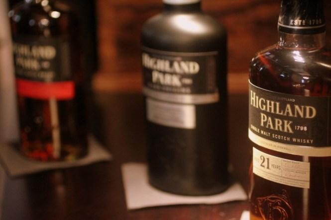 3 af de whiskyer på programmet