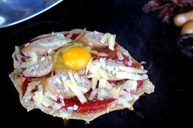 Kunne også være en tømmermændspizza...