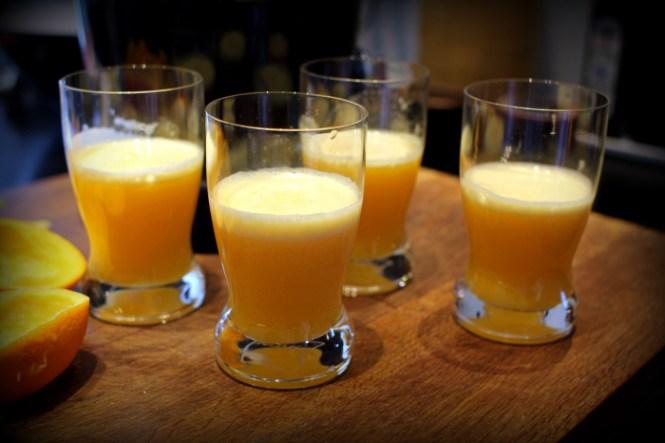Friskpresset juice...