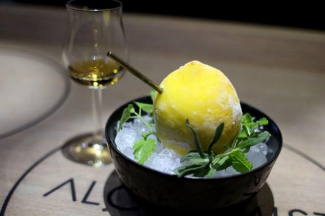 Citron - Whisky - for mig det bedste match jeg nogensinde har fået med spiritus og mad...