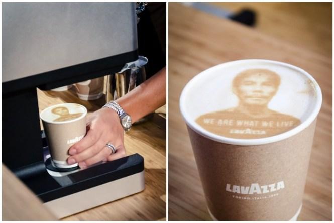 Latte art, Lavazza, The Earth Defenders