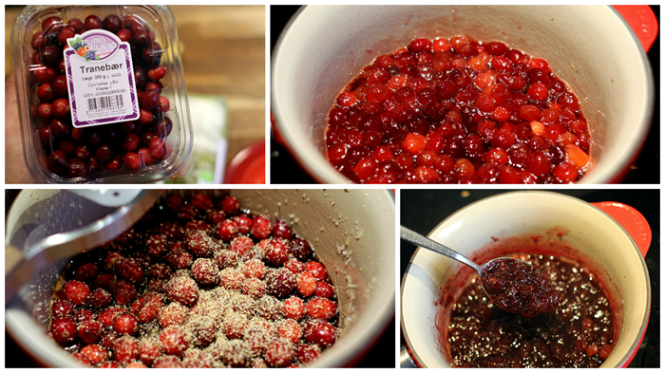 Cranberry sauce - super enkelt at lave!