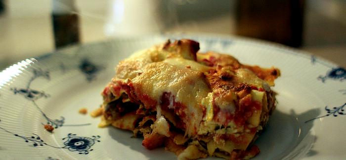 Lasagne – børnenes (og Garfields) favorit!