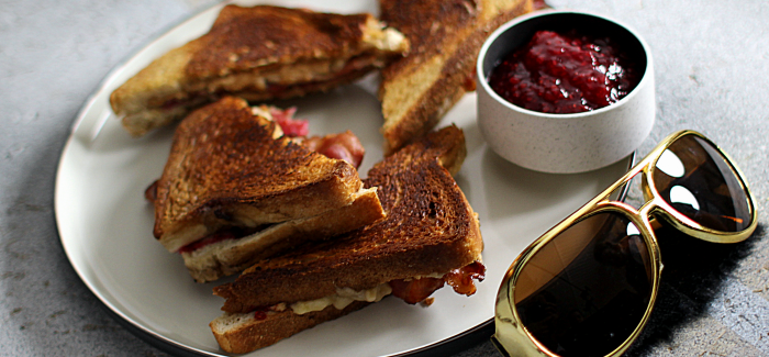 Elvis' favorit: Peanutbutter-banana-bacon-sandwich