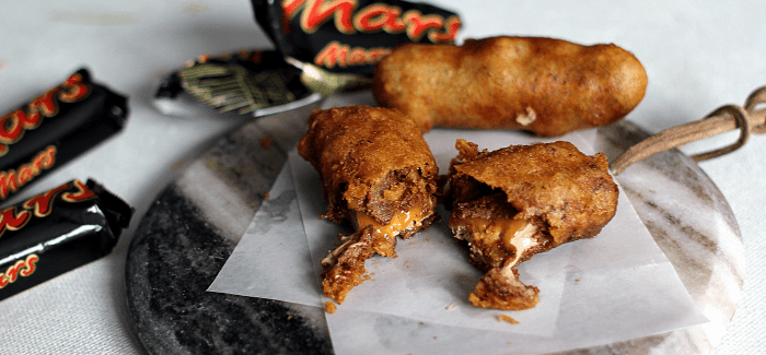 Den ultimative dessert-synd: Beer-battered Mars bar