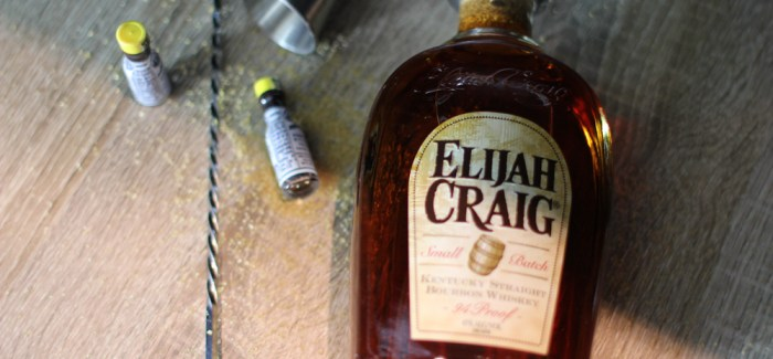 Wednesdays Whisky: Old Fashioned Elijah Craig