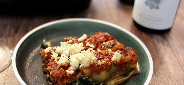 Sommermad: Cannelloni med paneer, pinjekerner og spinat