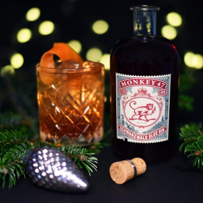 Monkey 47 Sloe, Fever-Tree Mediterranean tonic & appelsinskal – du kan takke os senere!