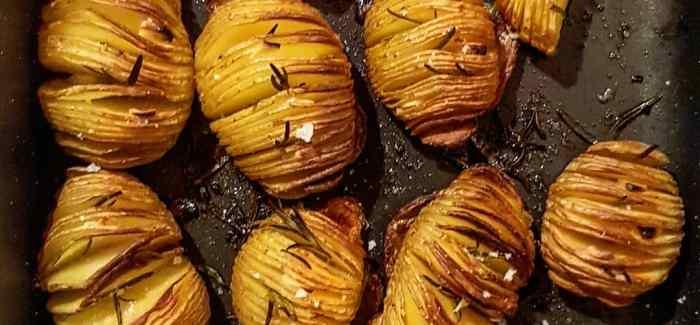 Hasselback kartofler – opskrift på perfekt tilberedte kartofler