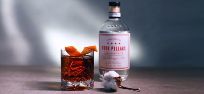 Four Pillars Spiced Negroni Gin - en Gin der kan smages, i Negroni