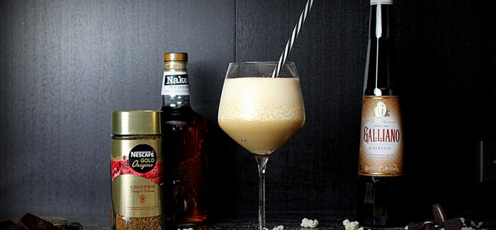 "Cocktail: ""Naked Frozen Coffee"""