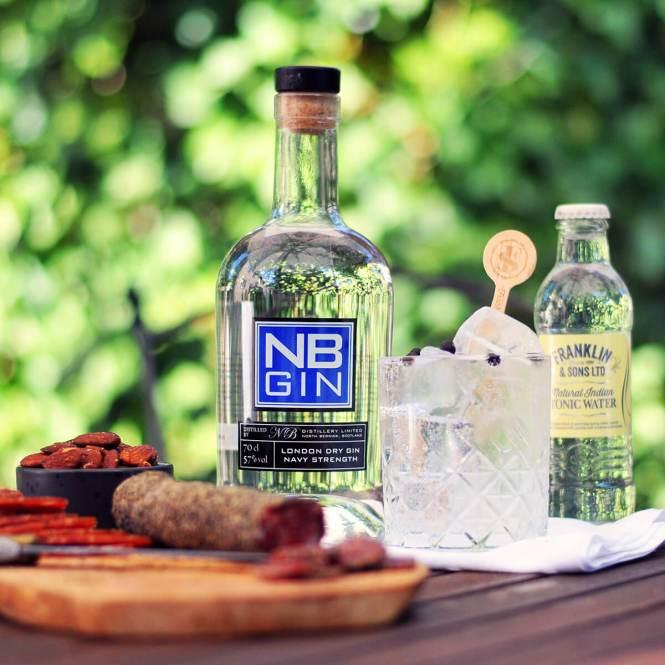 NB Navy Strength Gin