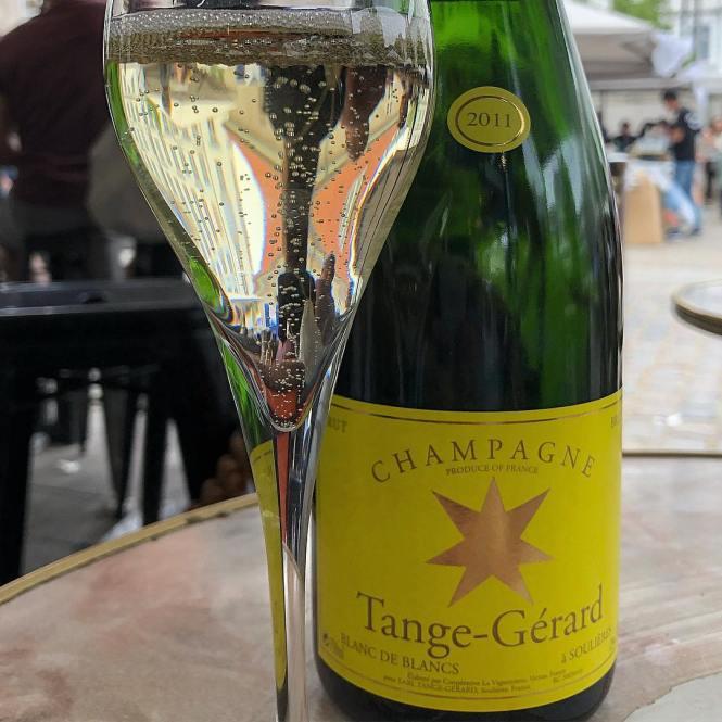 Champagne Blanc de Blancs i Torvehallerne