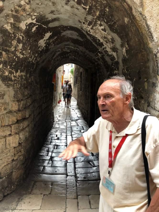 Balkan tourguide - Gastromand på guidet rundtur i Split