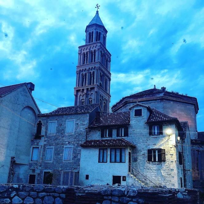 Smukke Balkan - Split i Kroatien by night!
