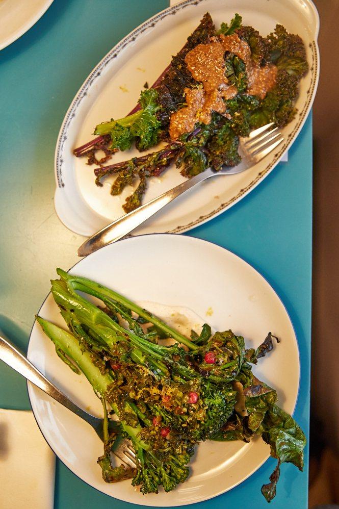 Grøntsagsretter hos Restaurant Medvind