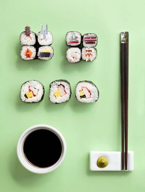 Brunchcity Tokio Japon sushi, arroz