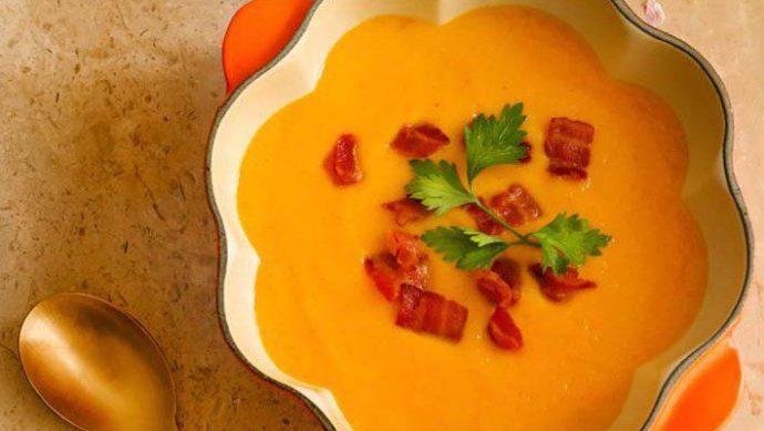 crema ligera de zanahoria