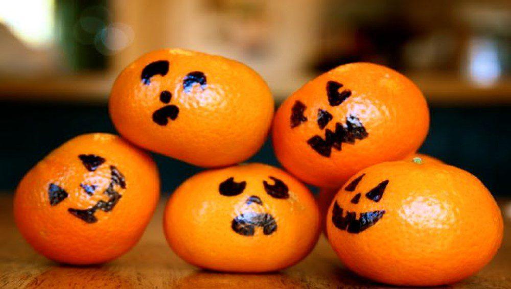 Calabazas de mandarina