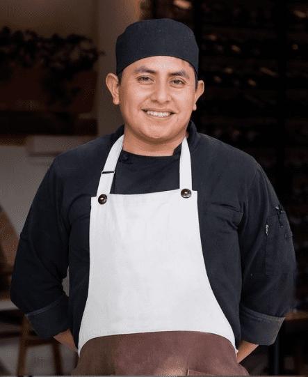 Chef Jorge Gordillo