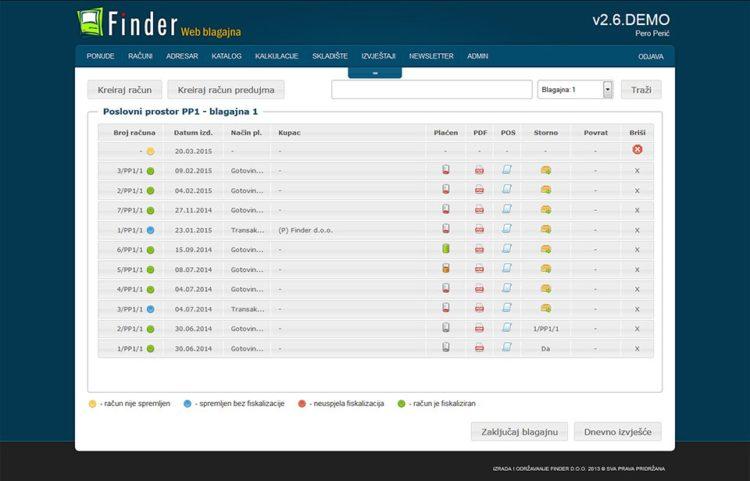 Podrška za više prodavača i prodajnih mjesta - www.web-racun.eu
