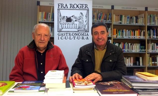 Biblioteca Fra Roger entrega llibres