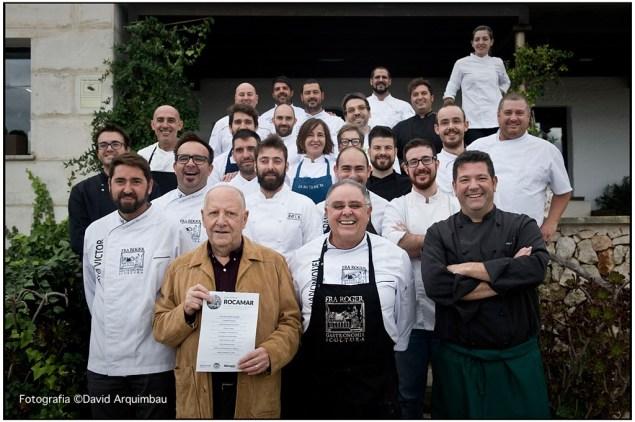 Homenatge Rocamar grup cuiners