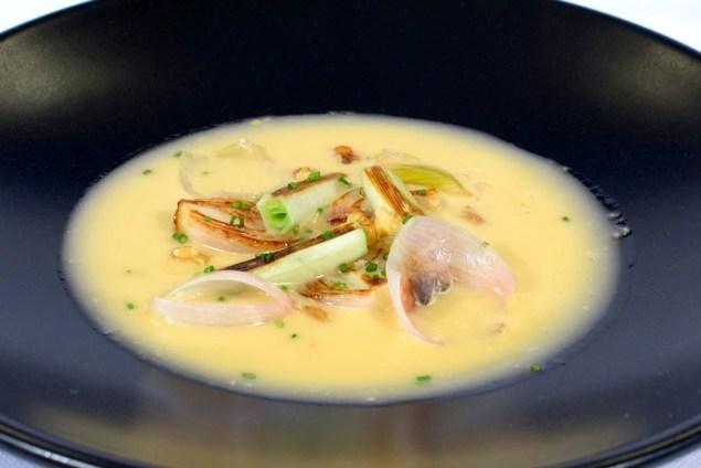 Joan Bagur sopa formatge i verdures