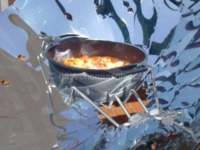 Cocina Solar Parabolica De Carton
