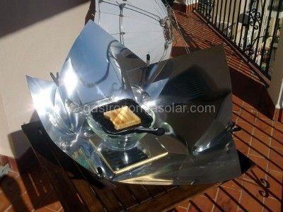 Cocina solar porttil Funcionamiento temperatura tipos