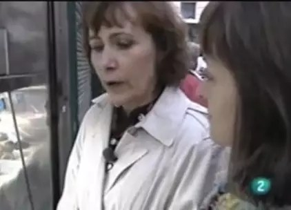 Marie Monique Robin en el mercado  Gastronoma  Ca