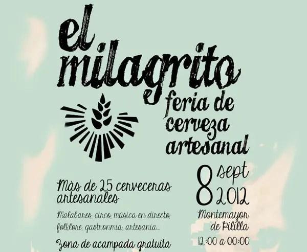 Feria de Cerveza Artesanal de Montemayor Valladolid