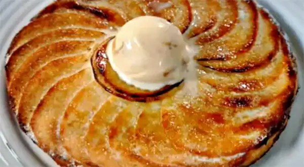 Resultado de imagen de tarta fina de manzana samantha