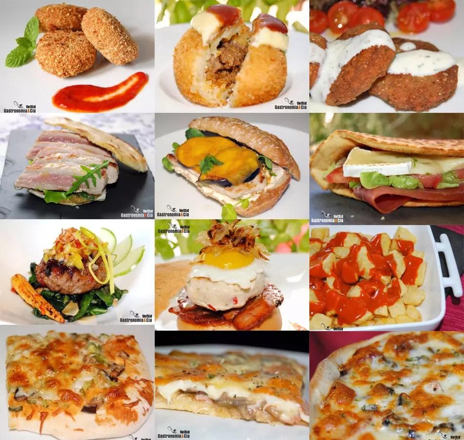 Doce recetas de comida rpida casera  Gastronoma  Ca