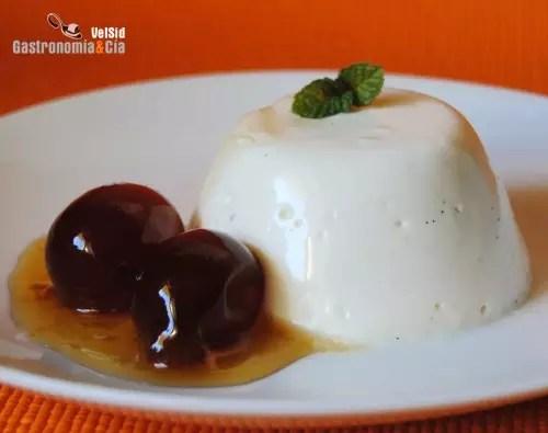 Receta de Panacota  Gastronoma  Ca
