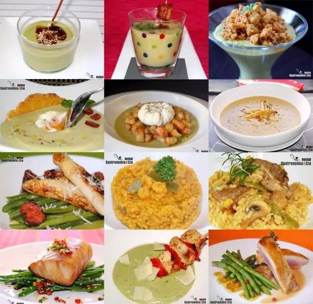 Doce recetas con judas verdes  Gastronoma  Ca